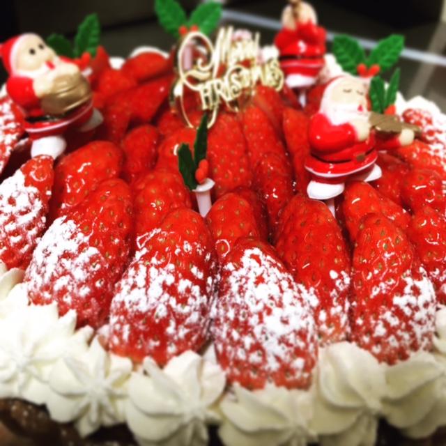 2016クリスマスケーキ 新作ブッシュドノエル カフェの手作りケーキ