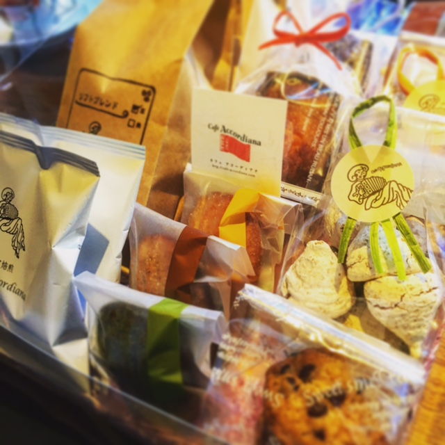 2017元旦 岡崎の道の駅「藤川宿」出張販売 焼き菓子&豊橋自家焙煎 お年賀にもおすすめです♪