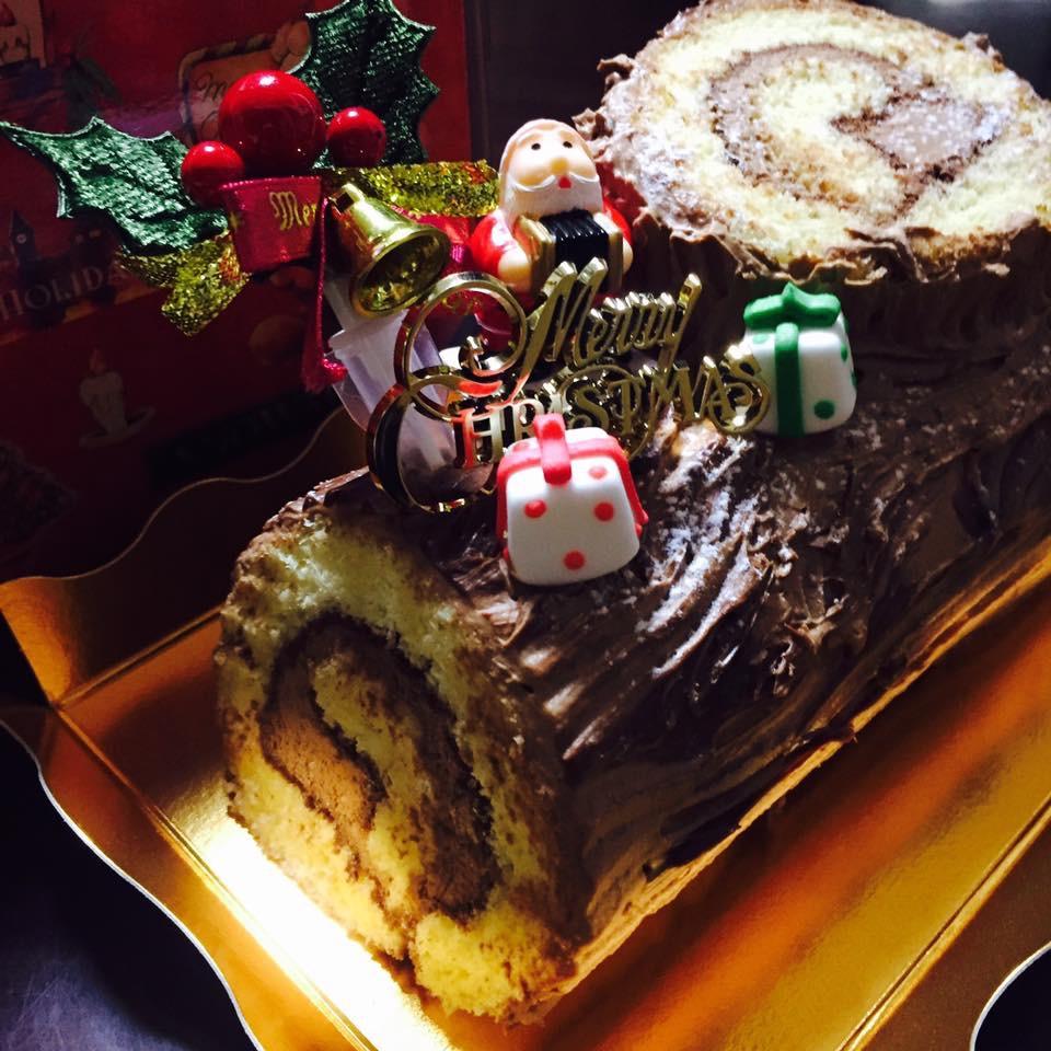 2016 クリスマスケーキ カフェならではのイチゴタルト 一足お先に旅立ち